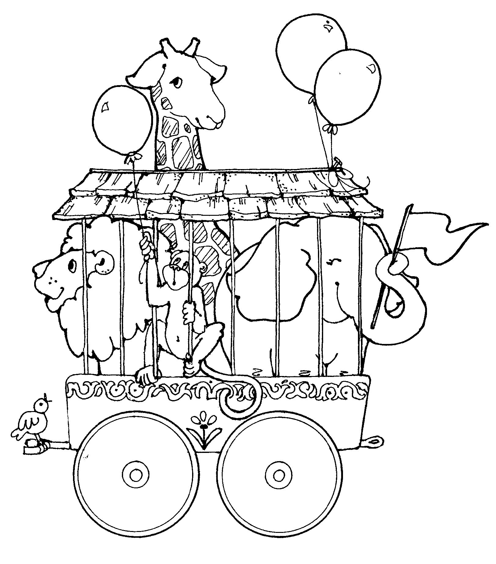 circus coloring pages for preschool circus coloring pages for kindergarten kidsworksheetfun preschool pages coloring circus for
