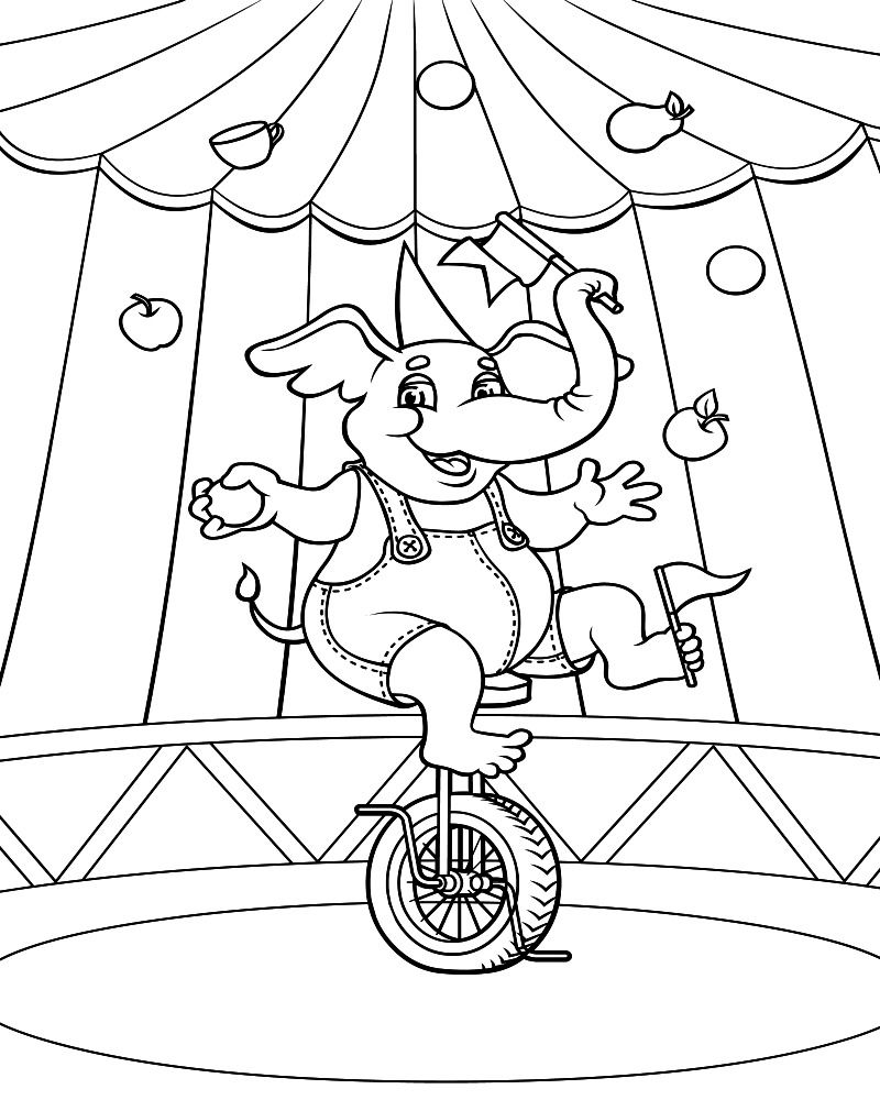 circus coloring pages for preschool circus coloring pictures of animals circus tent coloring pages coloring preschool for circus