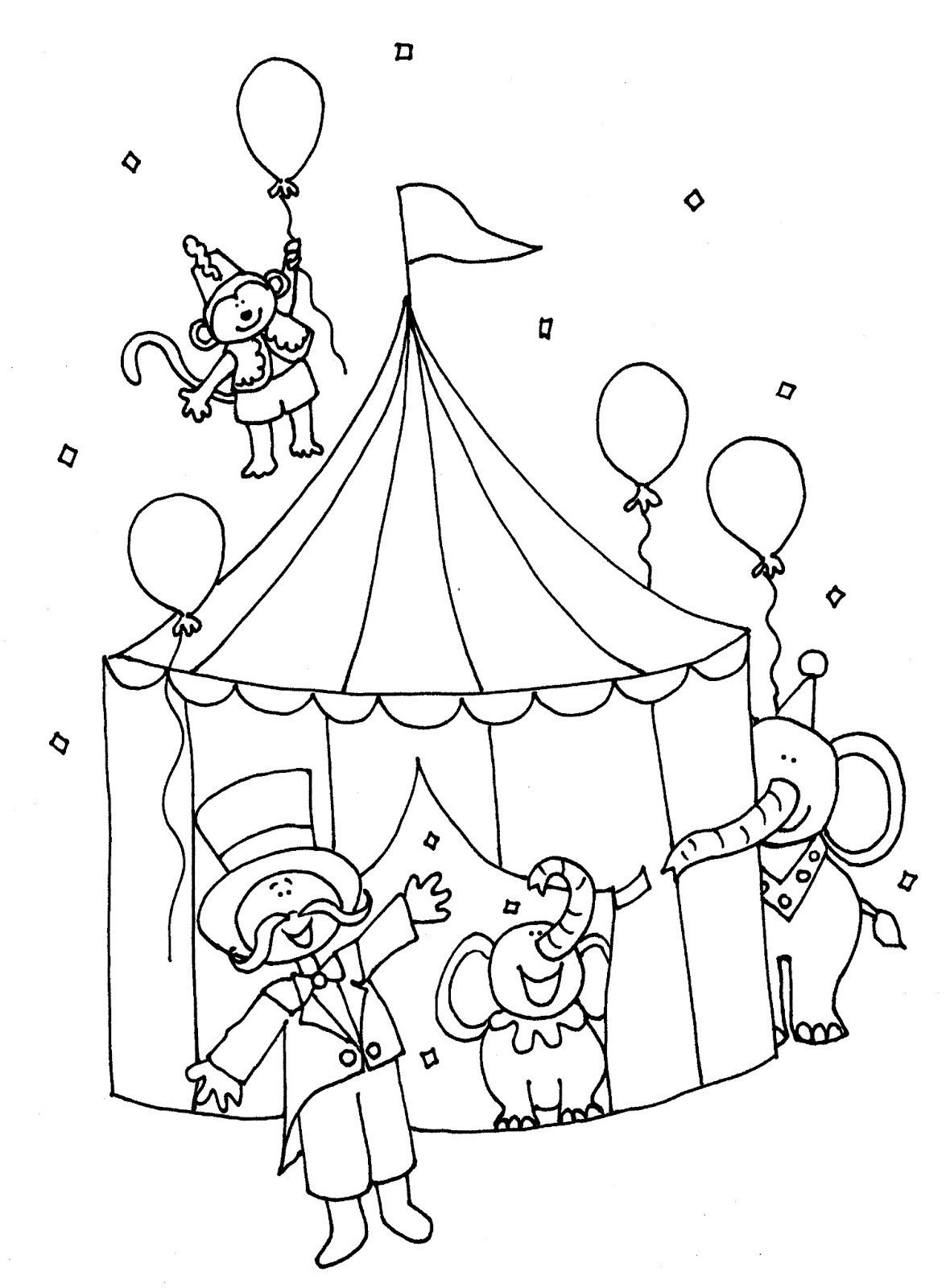 circus coloring pages for preschool circus printables circus clowns color page coloring circus coloring for pages preschool