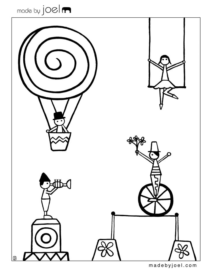 circus coloring pages for preschool clown coloring pages circus tiger coloring page pictures pages circus preschool coloring for