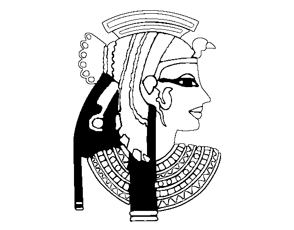 cleopatra coloring page cleopatra profile coloring page coloringcrewcom page coloring cleopatra