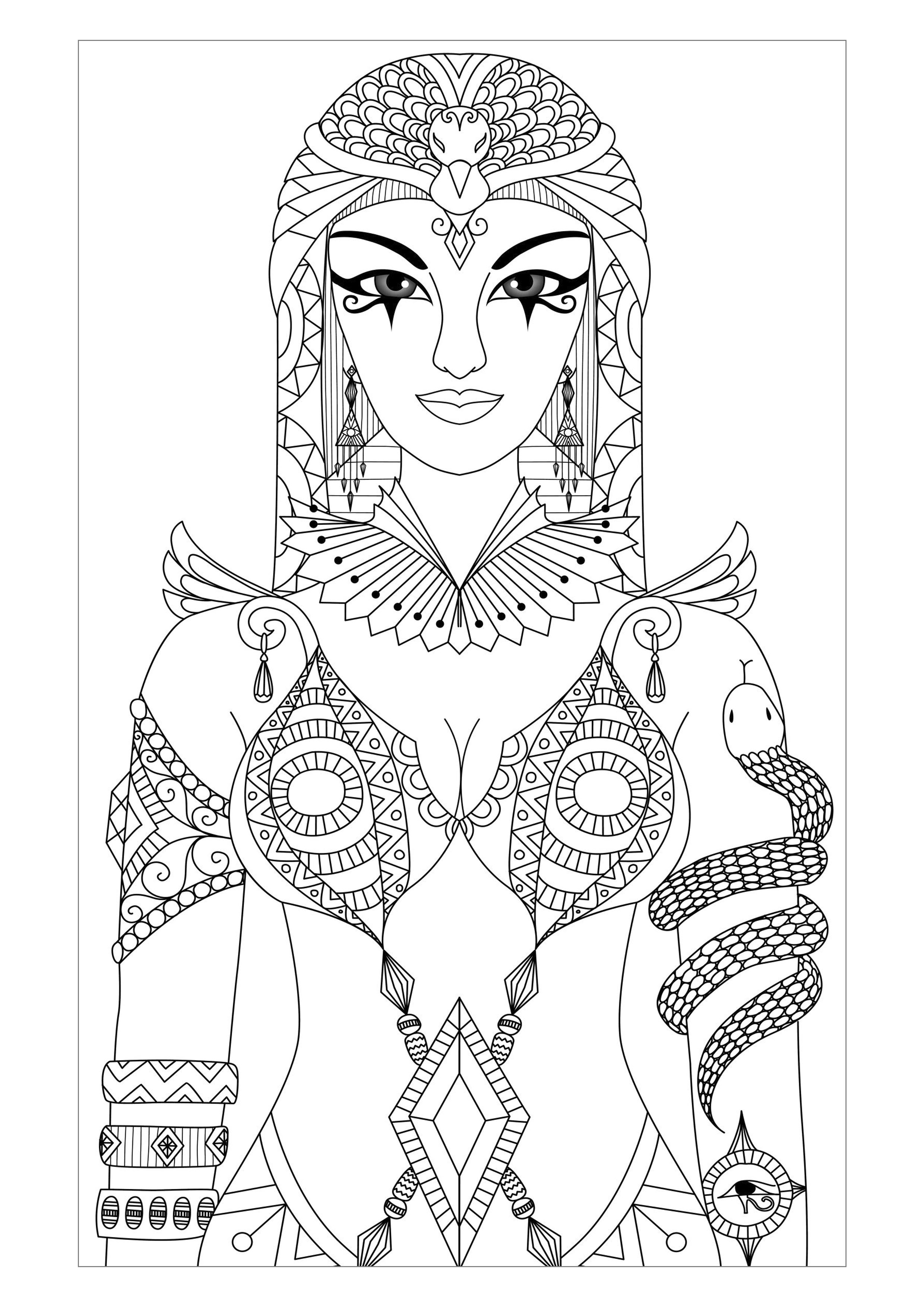 cleopatra coloring page the best free cleopatra coloring page images download cleopatra coloring page