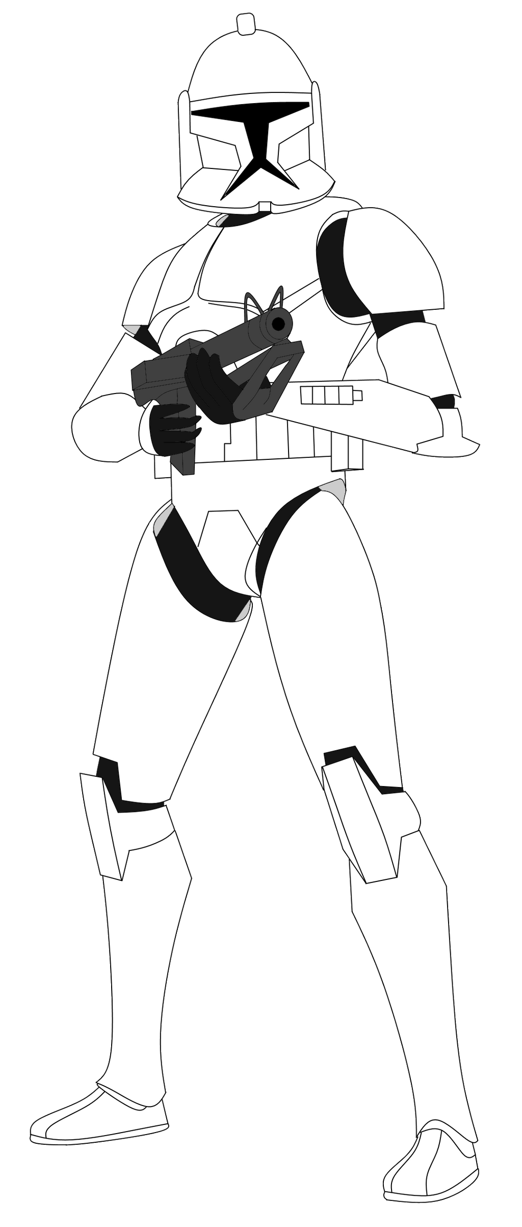 clone trooper coloring page 14 clone trooper coloring pages print color craft coloring trooper clone page
