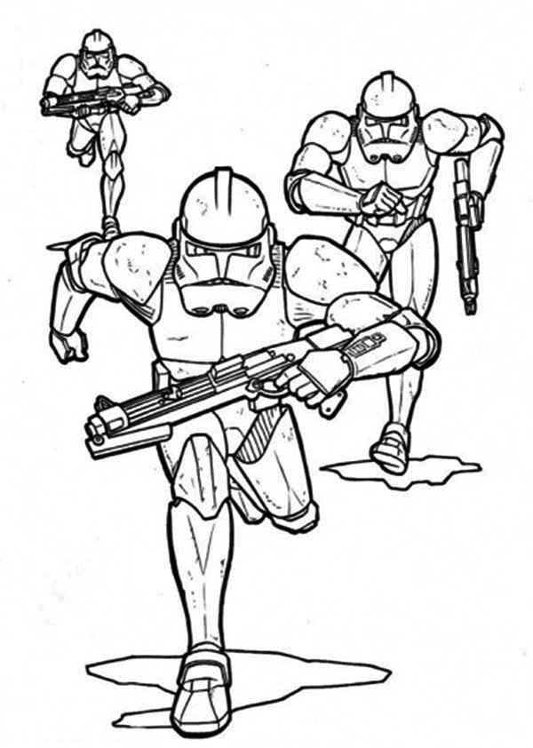 clone trooper coloring page the clone troopers pursuing in star wars coloring page trooper coloring page clone