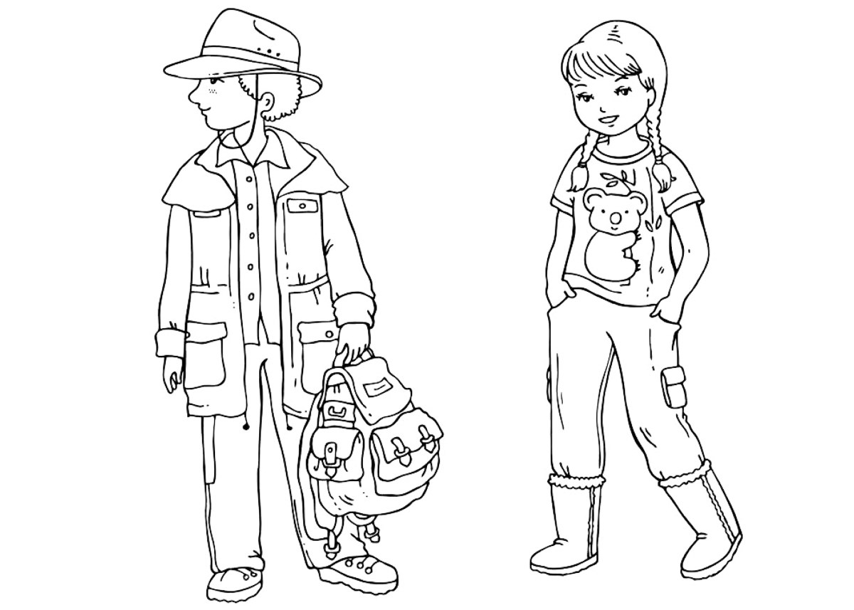 clothing coloring pages clothes coloring page coloring home clothing coloring pages