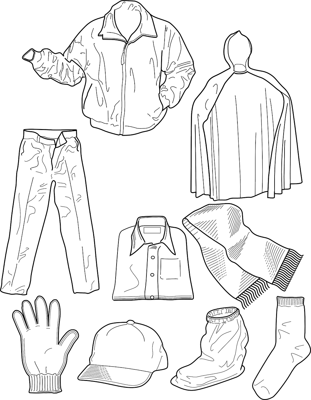 clothing coloring pages coloring pages dress coloring home pages clothing coloring