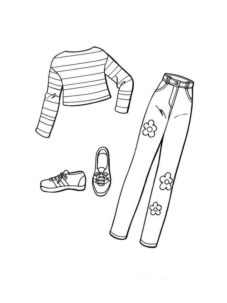 clothing coloring pages fashion clothes coloring pages coloring home coloring clothing pages