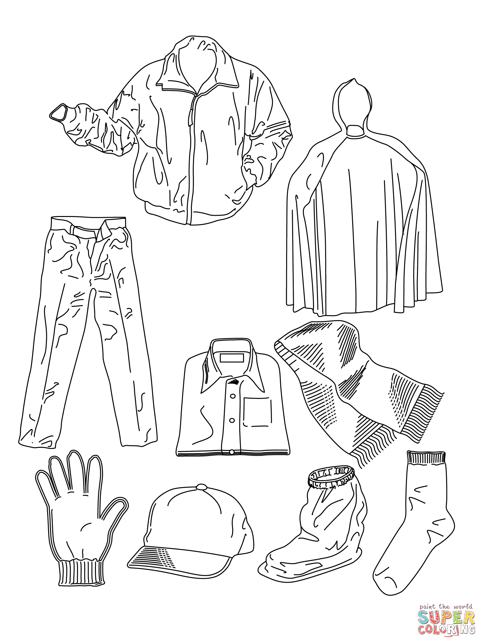 clothing coloring pages printable coloring pages of fashion clothing coloring home clothing coloring pages