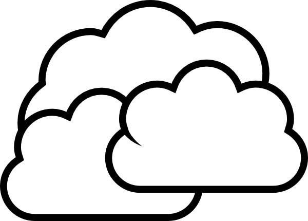 cloud coloring pages beautiful clouds coloring page netart coloring cloud pages