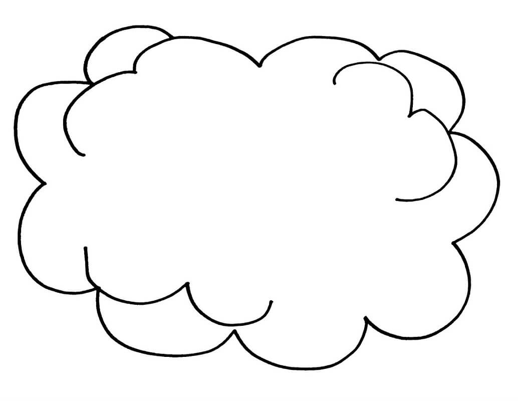 cloud coloring pages cute cloud coloring page free printable coloring pages pages coloring cloud