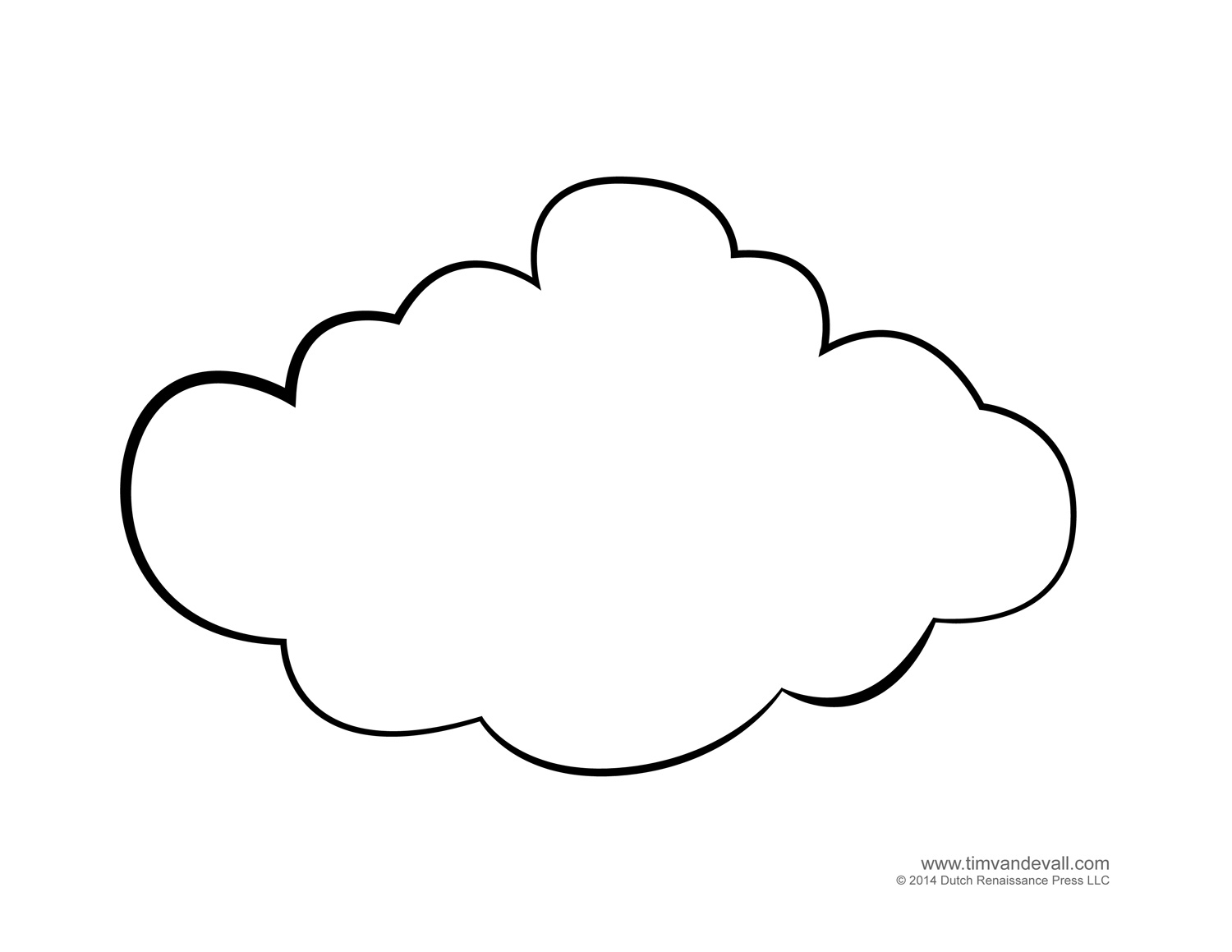 cloud coloring pages weather for kids free cloud templates and weather cloud coloring pages