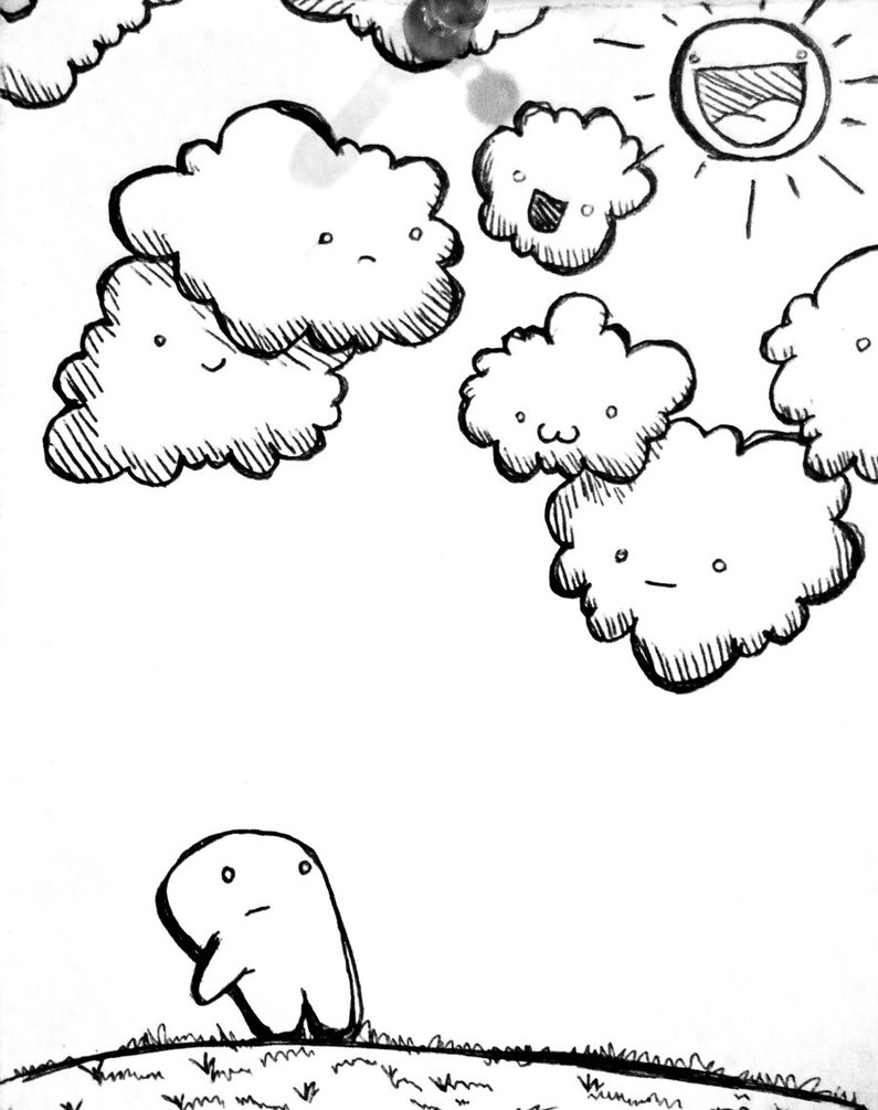 cloudy day coloring pages cloudy coloring picture clipart best coloring pages cloudy day