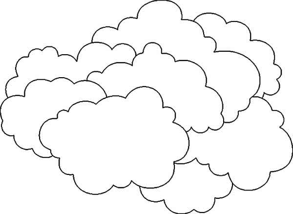 cloudy day coloring pages the clouds is so heavy coloring page netart coloring day pages cloudy