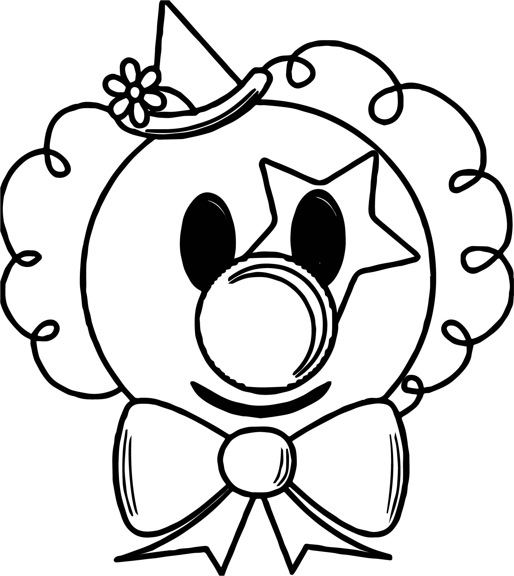 clown face coloring page nice flower clown face coloring page clown crafts clown face page clown coloring
