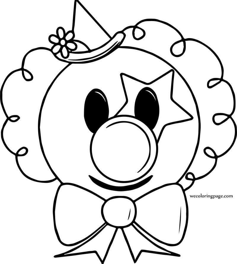 clown face coloring page silly clown coloring page free printable coloring pages coloring clown page face