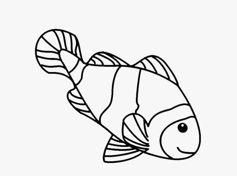 clown fish drawing coloring pages luxury fish drawings for kids simple clown fish drawing