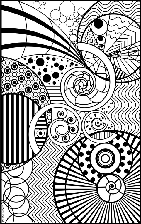 color in pages inspiraled coloring page crayolacom color pages in