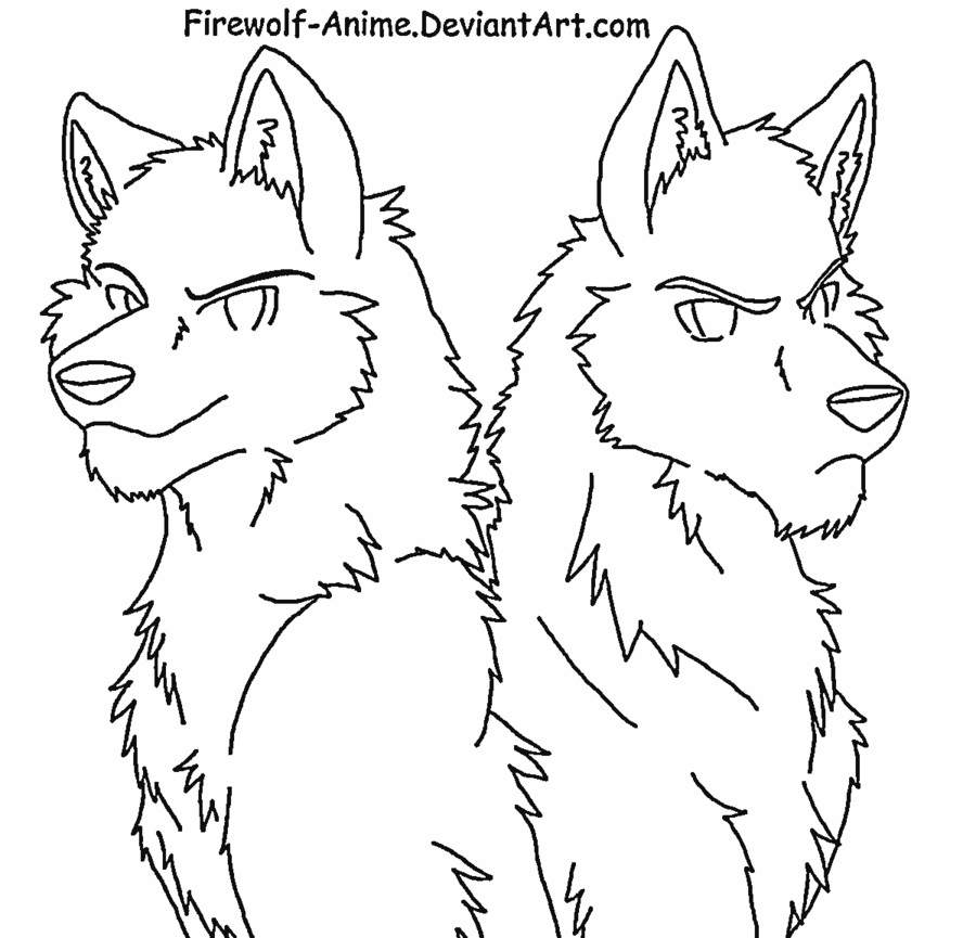 color in wolf anime wolf pack coloring pages coloring home color wolf in