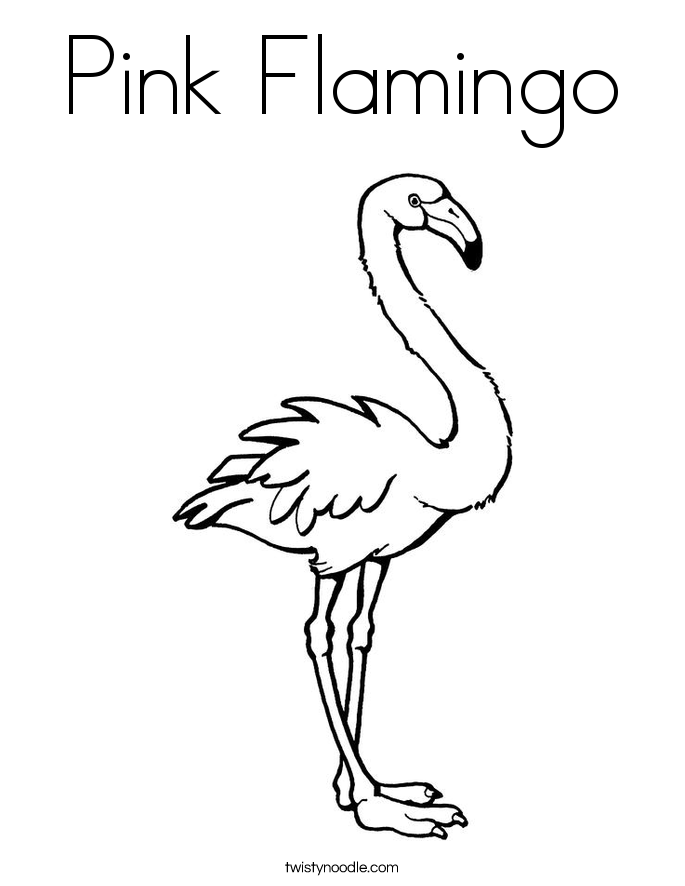 color pink coloring pages pink flamingo coloring page twisty noodle pink pages color coloring