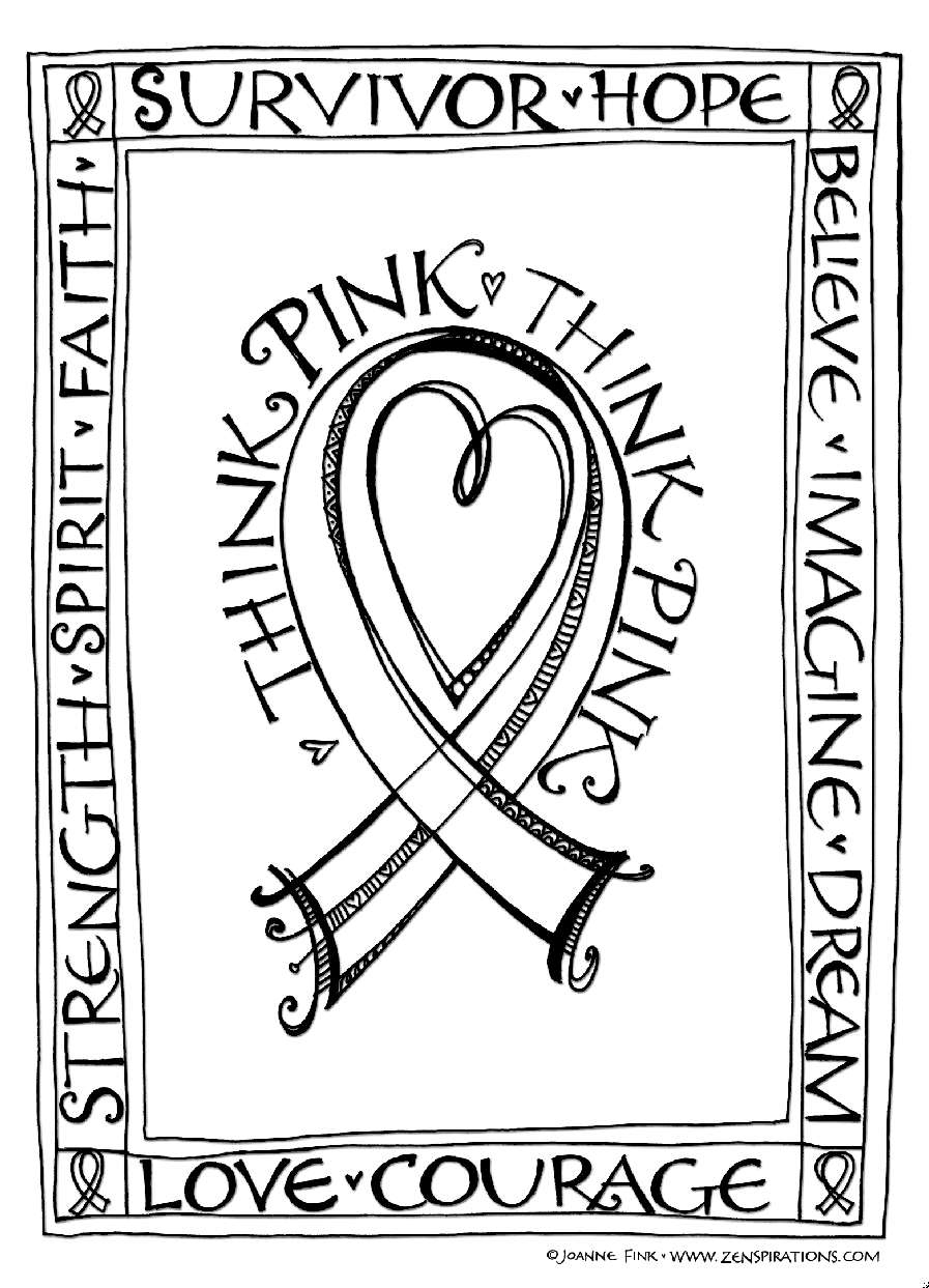 color pink coloring pages think pink free downloadable coloring pages zenspirations pages coloring color pink