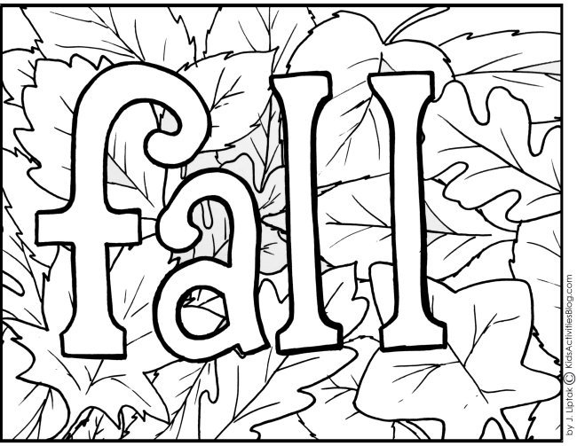 color sheets for fall autumn coloring pages sheets color for fall