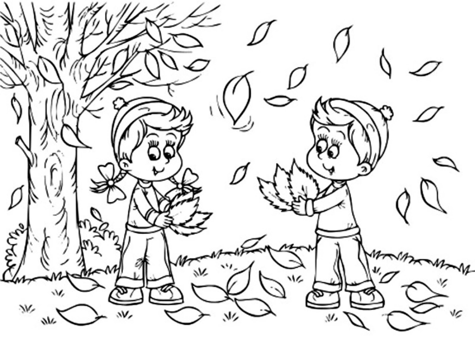 color sheets for fall fall coloring pages color sheets for fall
