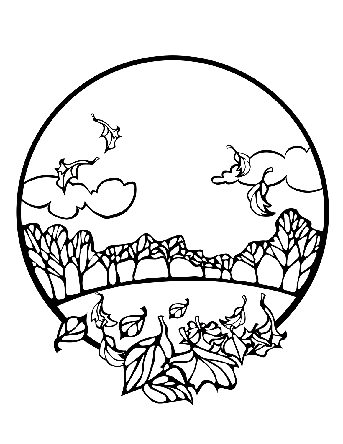 color sheets for fall fall coloring pages for kids and adults 101 activity fall color for sheets