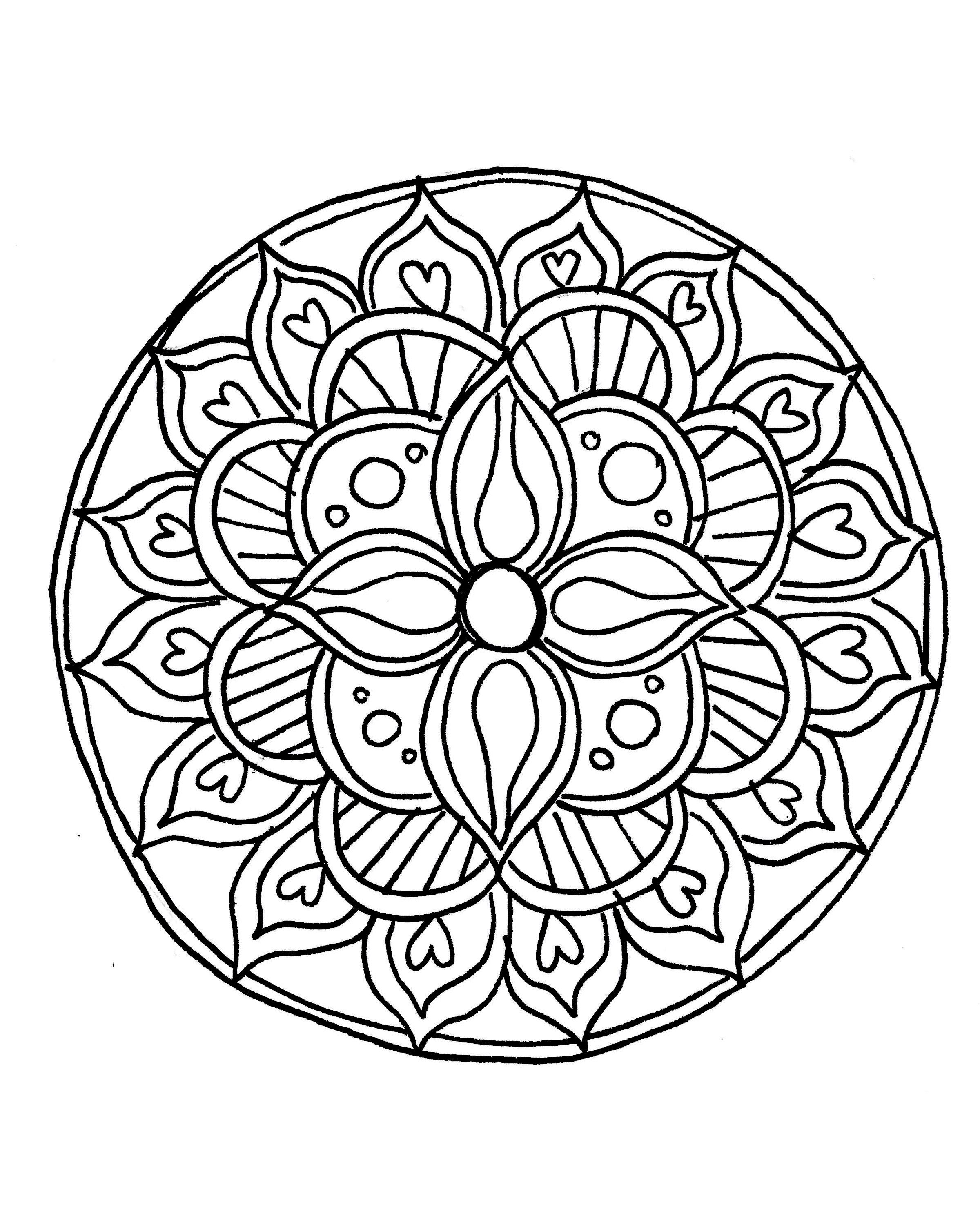 color your own mandala color your own heron mandala coloring poster zazzlecom color your mandala own