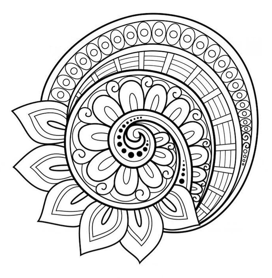 color your own mandala pin by alexis andrews on art inspiration abstract mandala own your color