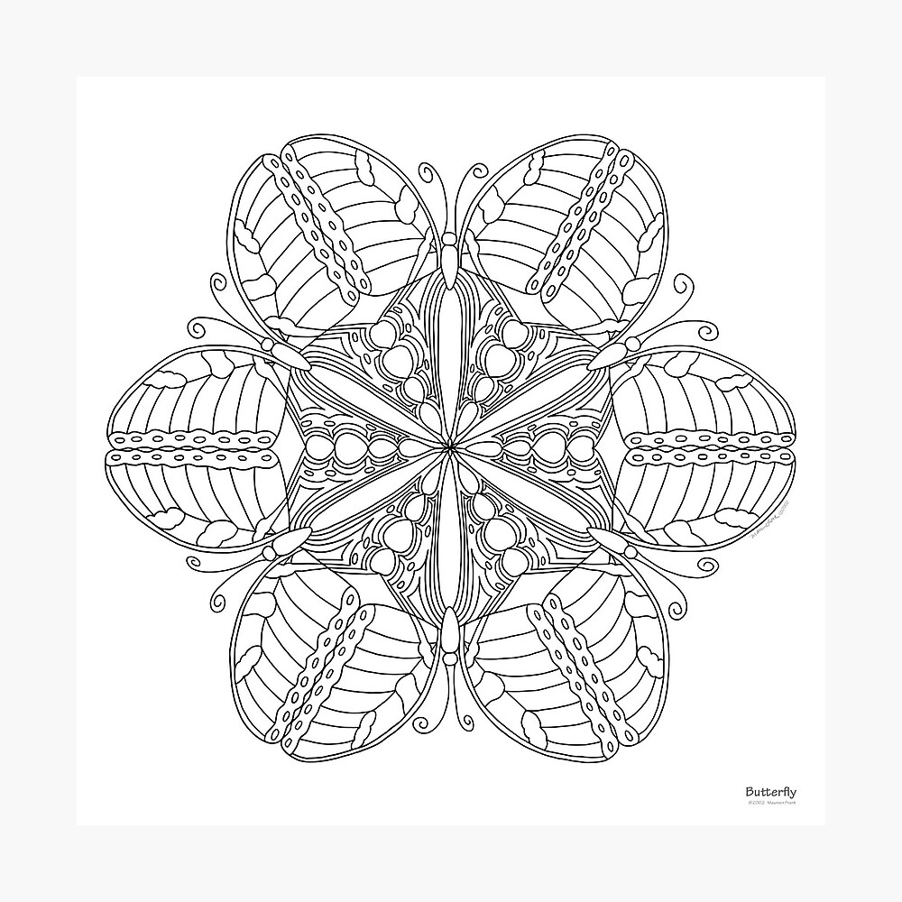 color your own mandala quotbutterfly mandala print color your ownquot photographic own your color mandala