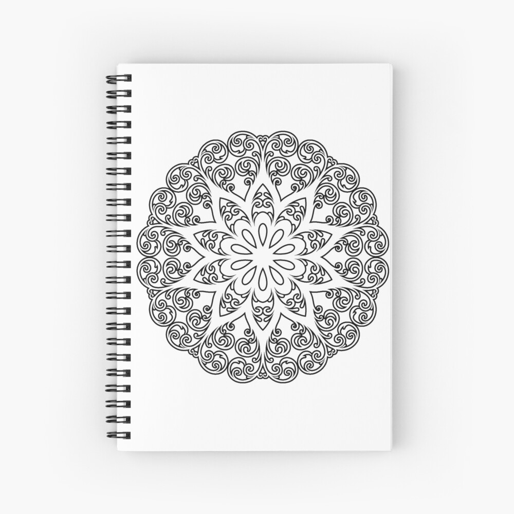 color your own mandala quotcolor your own mandala diy coloring book 01quot spiral your color mandala own