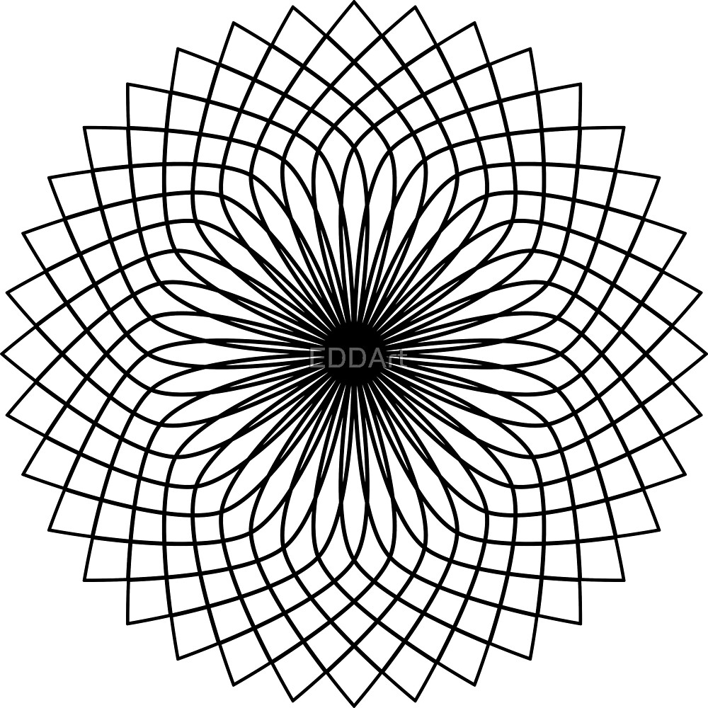 color your own mandala quotcolor your own mandala diy coloring book 05quot by eddart your mandala color own