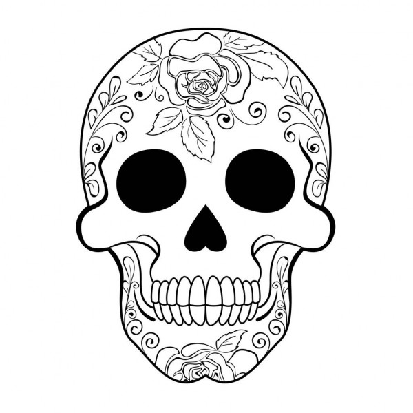 colorful sugar skull best tattoo thigh color sugar skull 35 ideas sugar colorful sugar skull