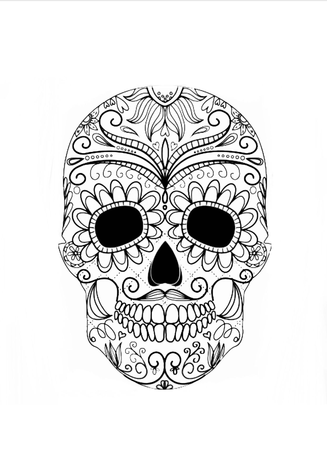 colorful sugar skull pin on crafts silhouette ideas colorful sugar skull
