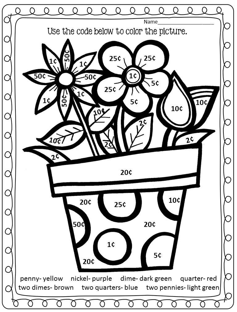 coloring activity for grade 1 9 best images of school supplies color worksheets school activity 1 grade for coloring
