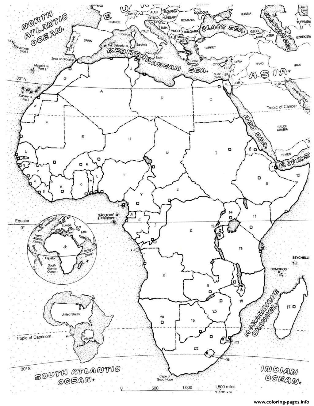 coloring africa adult africa map coloring pages printable africa coloring
