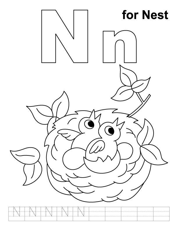 coloring alphabet n letter n coloring pages preschool coloring home coloring alphabet n