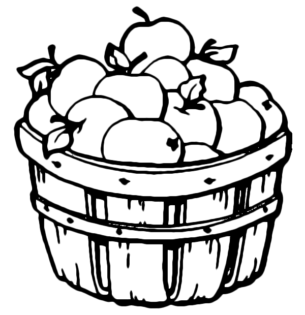 coloring apple basket apple basket coloring page coloring sky coloring apple basket