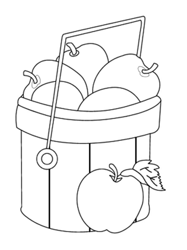 coloring apple basket apple basket coloring page sketch coloring page coloring basket apple