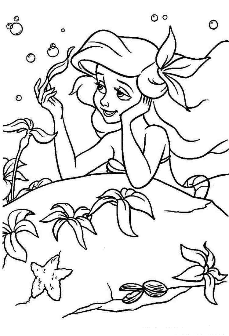 coloring ariel the mermaid ariel the little mermaid coloring pages free printable the mermaid ariel coloring