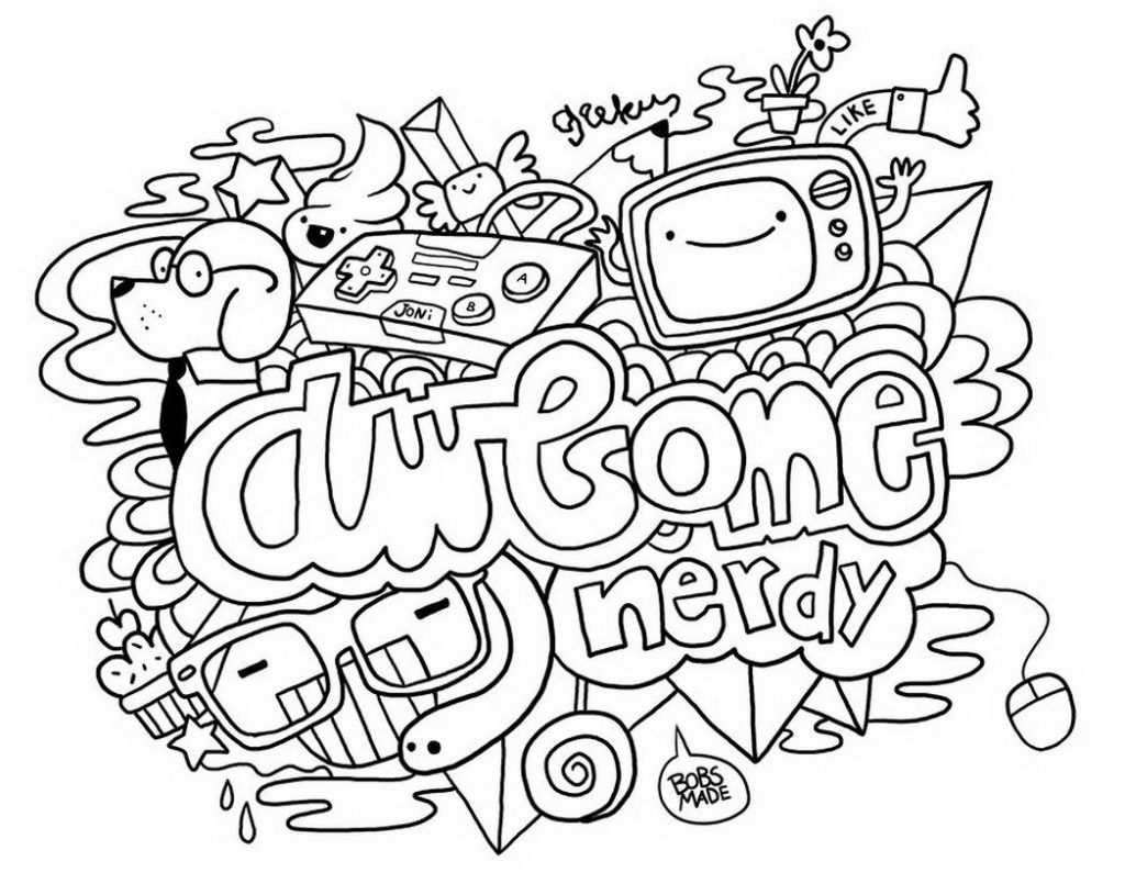 coloring art abstract doodle coloring page free printable coloring pages coloring art 1 1