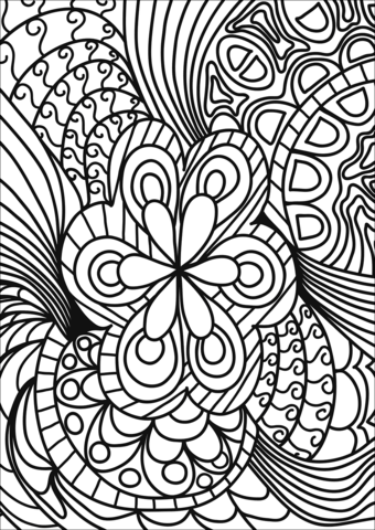 coloring art sheets abstract doodle coloring page free printable coloring pages sheets art coloring 1 1
