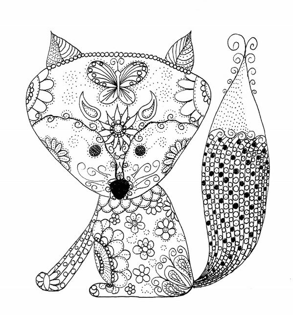 coloring baby fox cute baby fox coloring pages part 4 fox baby coloring