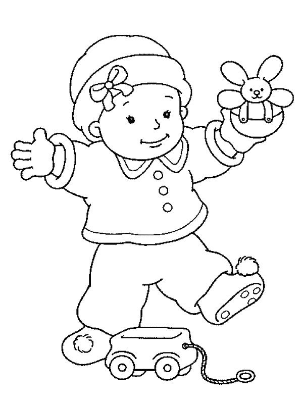 coloring baby girl 12 best images about coloring pages on pinterest girl coloring baby