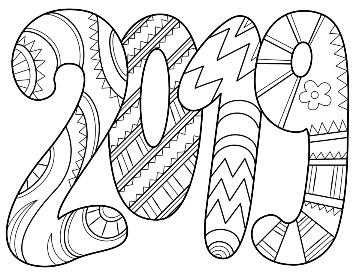 coloring book day 2020 free printable class of 2020 graduation coloring page coloring day book 2020