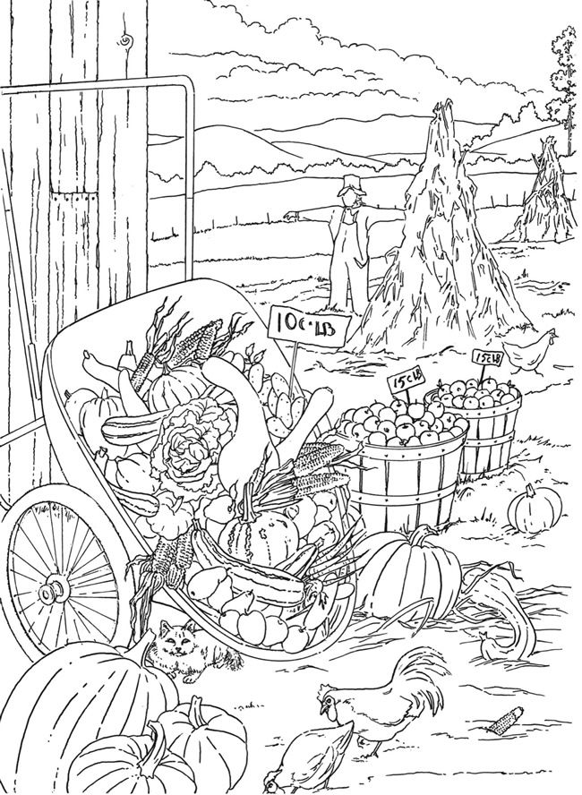 coloring book nature scenes scenery drawing for class 1 at getdrawings free download scenes nature coloring book