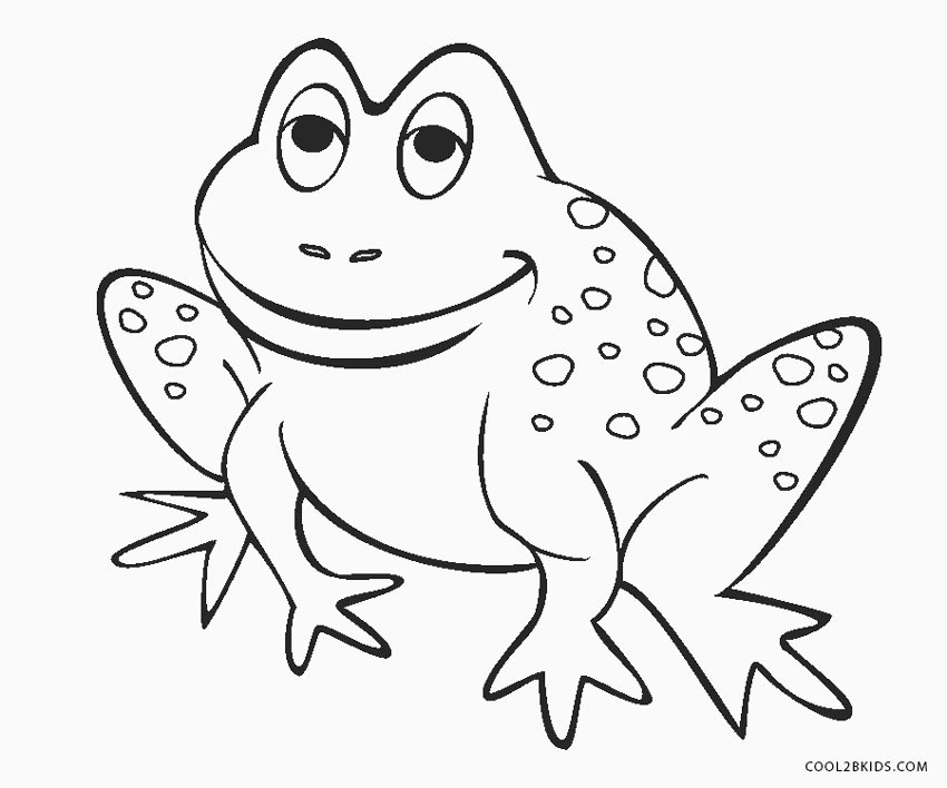 coloring book picture of a frog free printable frog coloring pages for kids cool2bkids frog coloring a picture book of