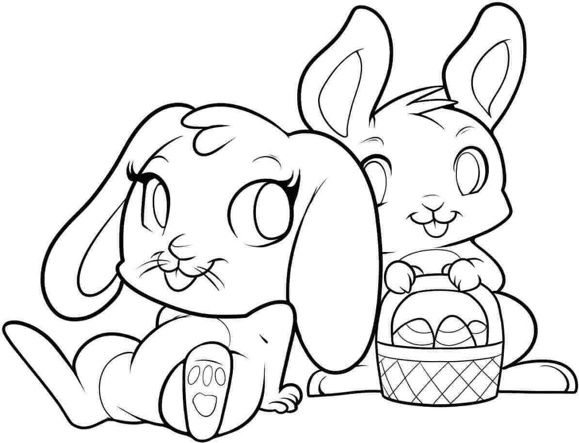 coloring bunnies 30 free easter bunny coloring pages printable coloring bunnies
