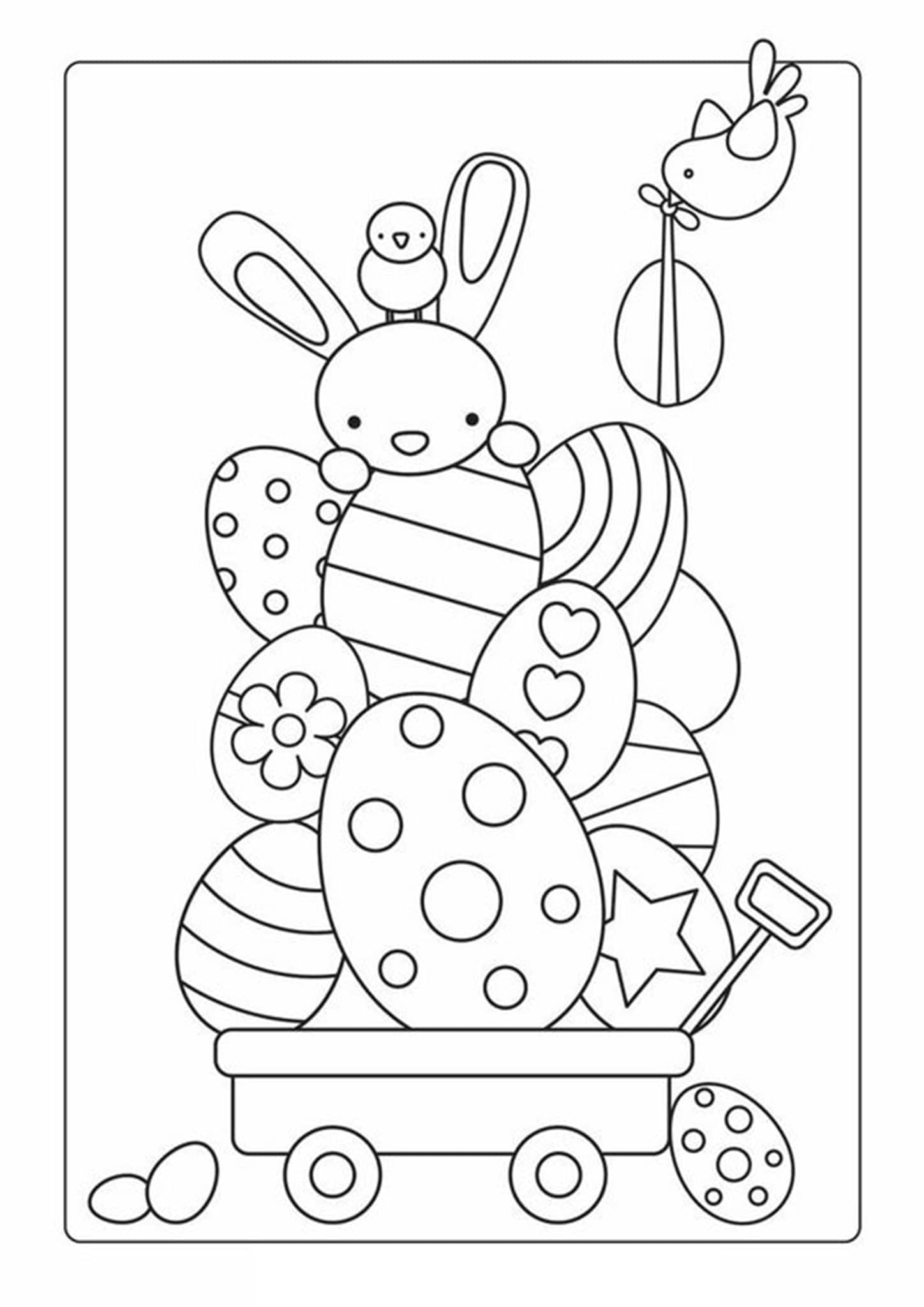 coloring bunnies free easy to print bunny coloring pages tulamama coloring bunnies