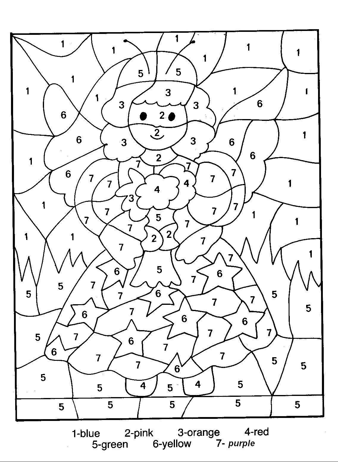 coloring by number free color by numbers worksheets activity shelter coloring by number